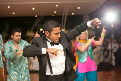 Bhangra2 Groom dances