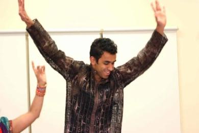 Bollyrobics Male Bollywood dancer 1