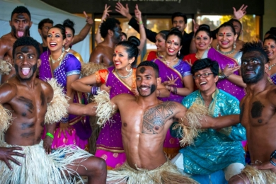 Bollywood at AAMI Park for Melbourne Storm NRL