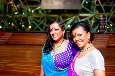 indian dancer's smile