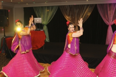 Corporate Bollywood Christmas Party for Wipro