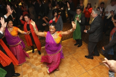 Corporate Bollywood on the Langham dance floor