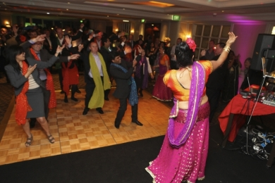 Corporate Interactive Bollywood dance workshop