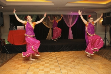 Corporate put your hands up for Bollywood dance