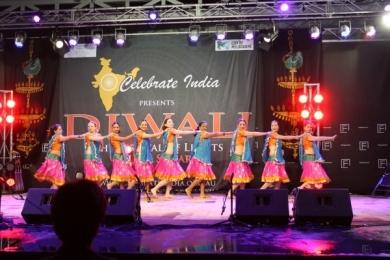 Diw Team of Ignite Bollywood dancers at Diwali