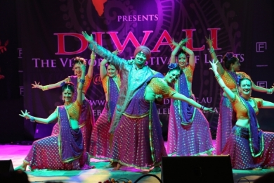 Diw2 Audience is stunned with Bollywood show in Melbourne