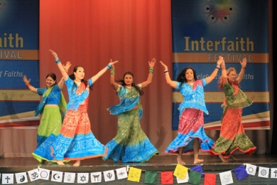 Interfaith Bollywood Stage performance