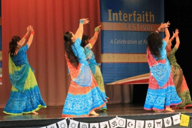 Interfaith Bollywood dance 2