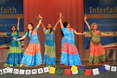 Interfaith Bollywood show melb