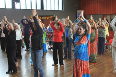 Interfaith Bollywood workshop
