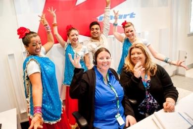 Kmart head office reception