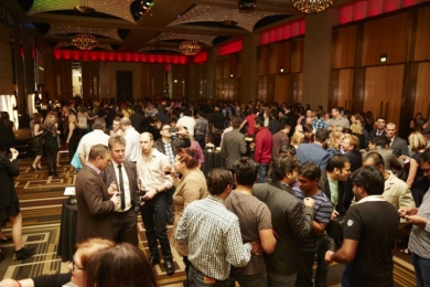 NAB and Oracle at Crown Palladium Bollywood Party
