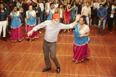 Leaders get on the dance floor - what kind of leader are you?