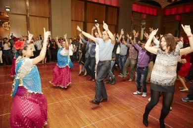 Bollywood dance is a great team idea