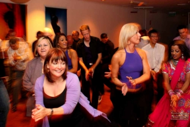 Sway girls at bollywood class