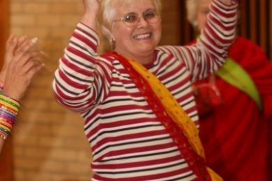 Seniors bhangra