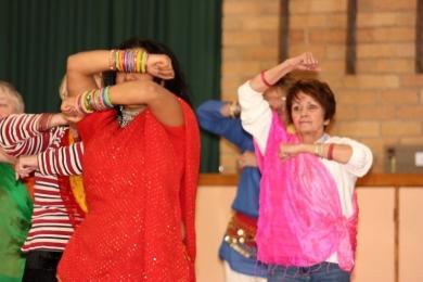 Seniors festival bollywood dance
