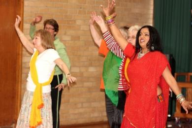Seniors in Melbourne  love to Bollywood