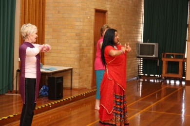 Seniors turn into  bollywood stars in Melbourne