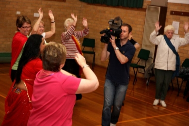 Vic Seniors Festival covered by Channel 10