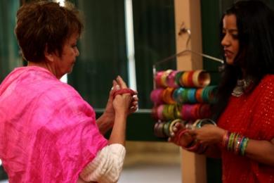 Vic Seniors Festival dressing up in Bollywood bling