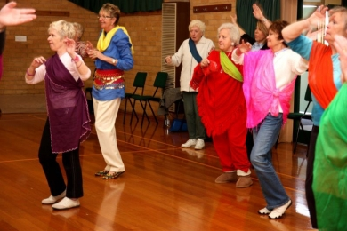 Vic Seniors have fun
