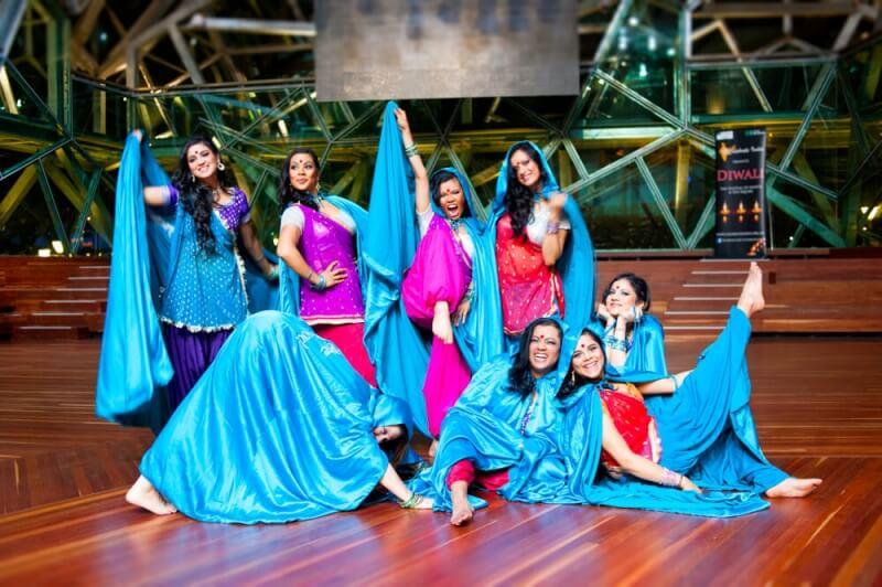 Christmas Bollywood dance